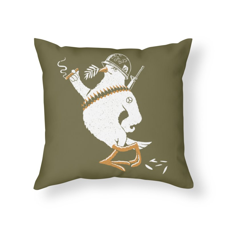 The Peacemaker Home Throw Pillow by Victor Calahan
