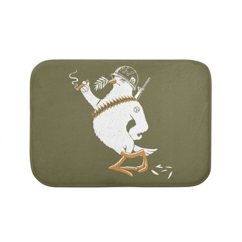 The Peacemaker Home Bath Mat by Victor Calahan