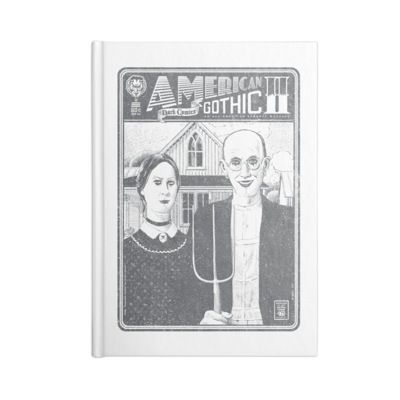 American Gothic 2.0 Accessories Notebook by Victor Calahan