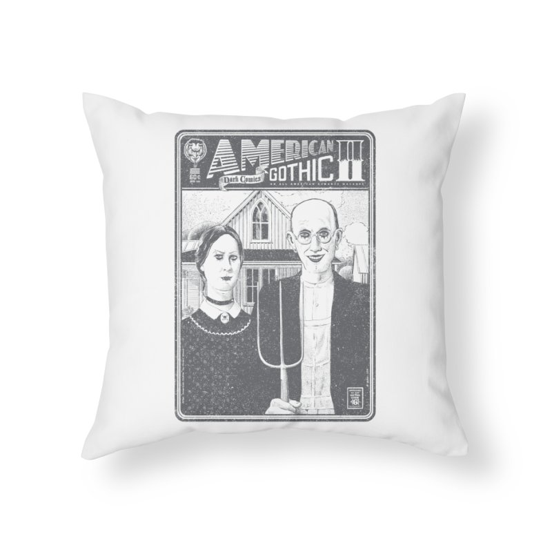 American Gothic 2.0 Home Throw Pillow by Victor Calahan