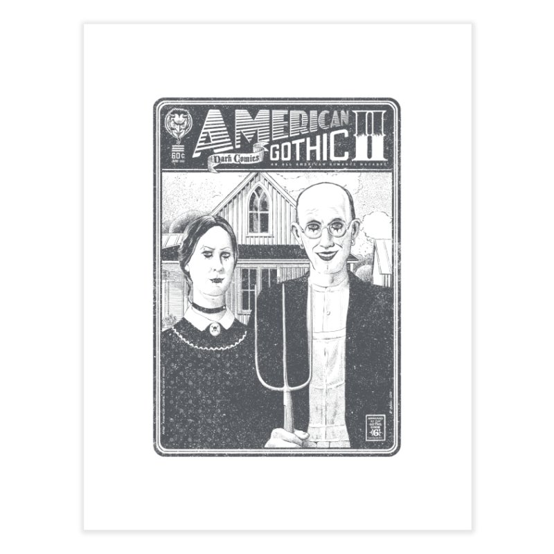 American Gothic 2.0 Home Fine Art Print by Victor Calahan