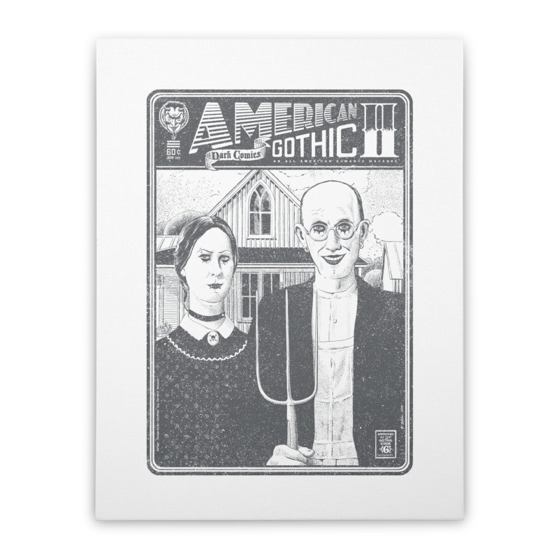 American Gothic 2.0 Home Stretched Canvas by Victor Calahan