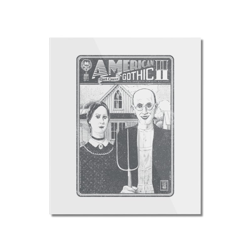 American Gothic 2.0 Home Mounted Acrylic Print by Victor Calahan