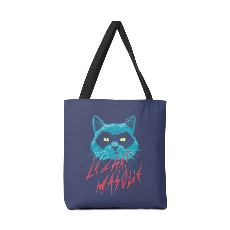 Le Chat Masqué Accessories Bag by Victor Calahan