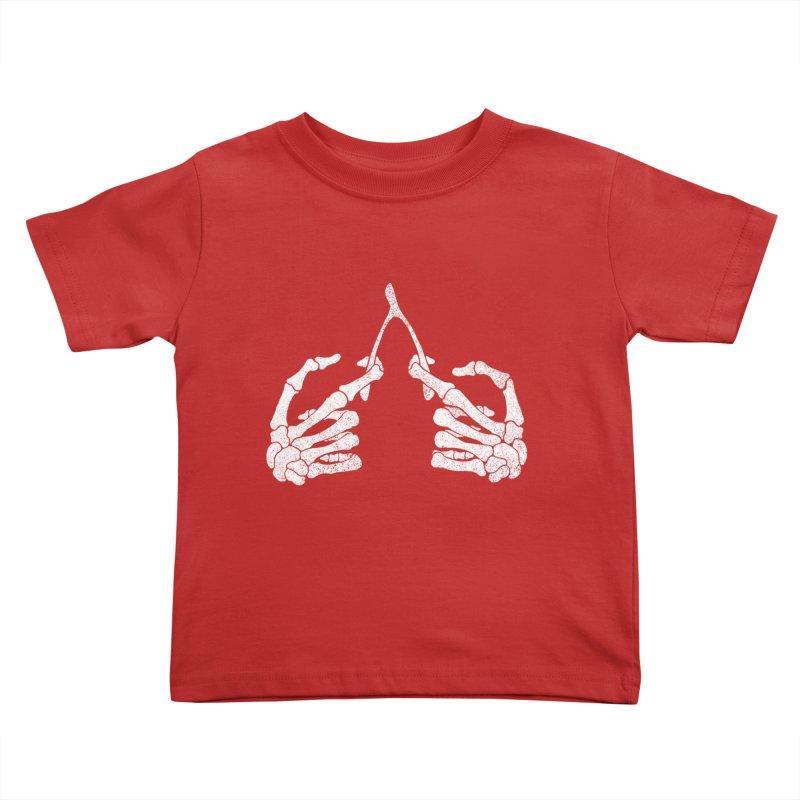 Wishbones Kids Toddler T-Shirt by Victor Calahan