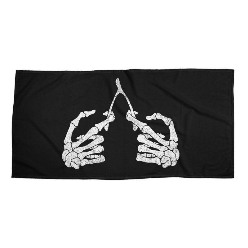 Wishbones Accessories Beach Towel by Victor Calahan
