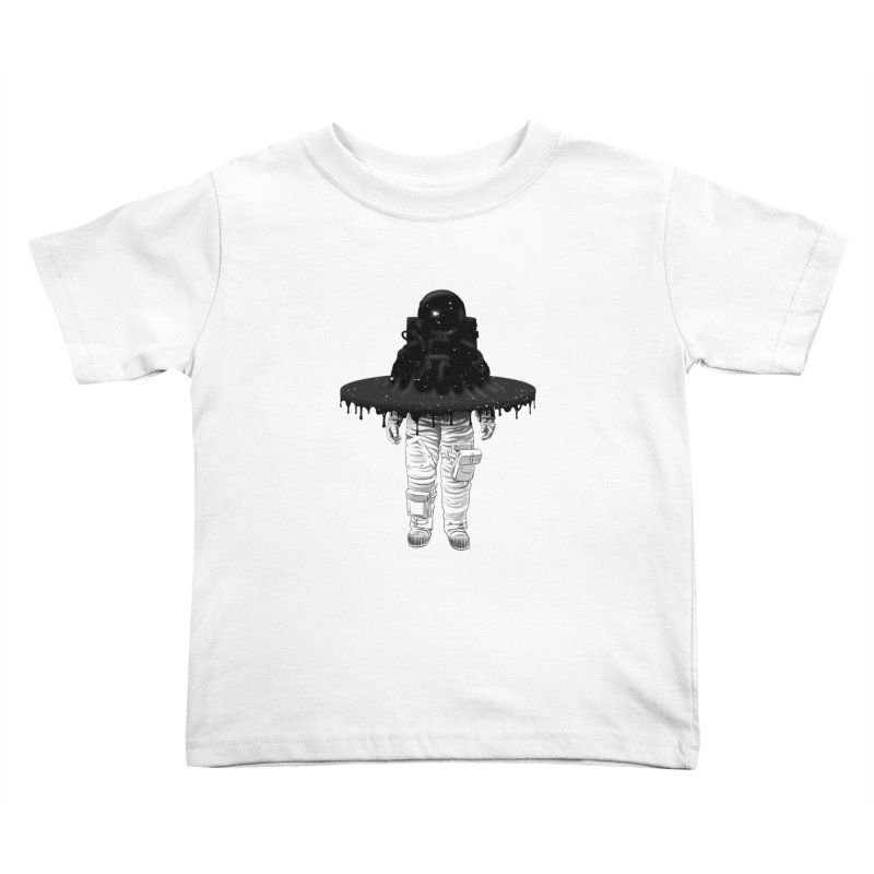 Through the Black Hole Kids Toddler T-Shirt by Victor Calahan