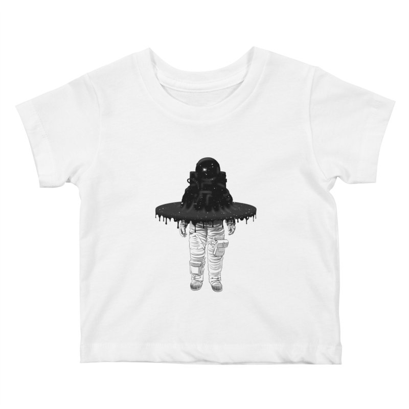 Through the Black Hole Kids Baby T-Shirt by Victor Calahan