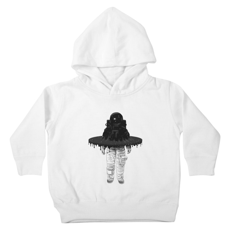 Through the Black Hole Kids Toddler Pullover Hoody by Victor Calahan