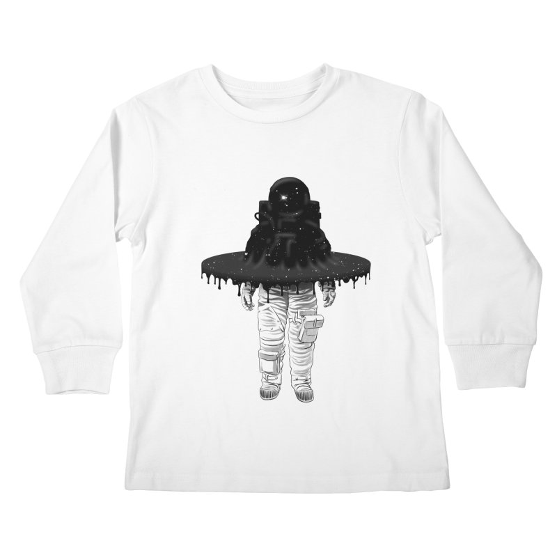Through the Black Hole Kids Longsleeve T-Shirt by Victor Calahan