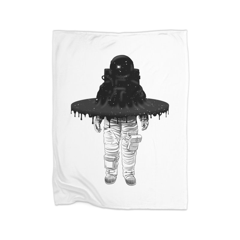 Through the Black Hole Home Blanket by Victor Calahan