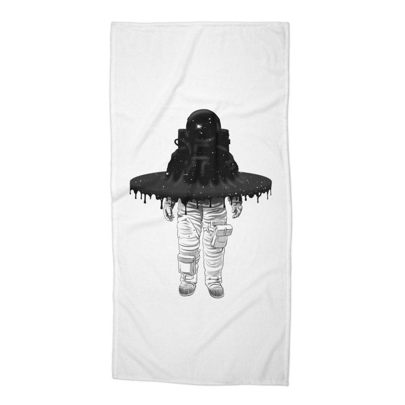 Through the Black Hole Accessories Beach Towel by Victor Calahan
