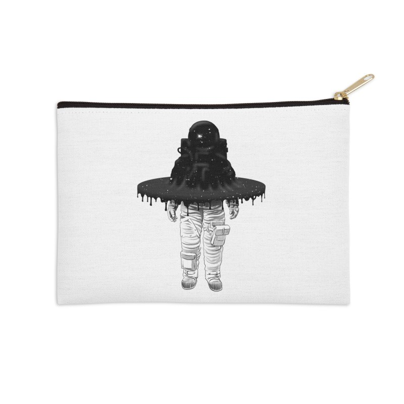 Through the Black Hole Accessories Zip Pouch by Victor Calahan