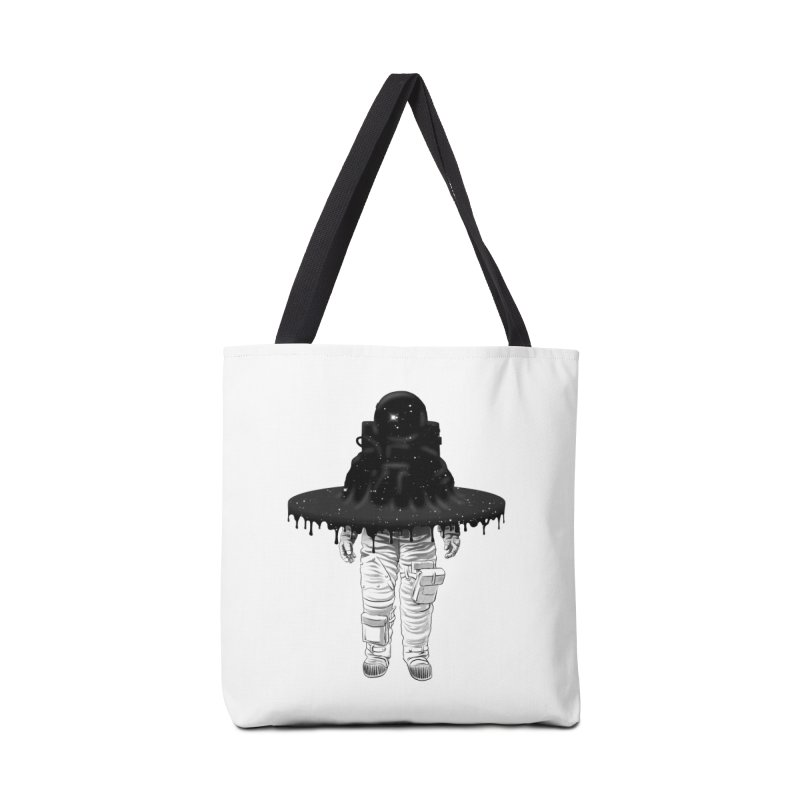 Through the Black Hole Accessories Bag by Victor Calahan