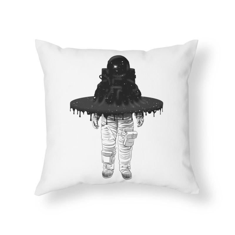 Through the Black Hole Home Throw Pillow by Victor Calahan