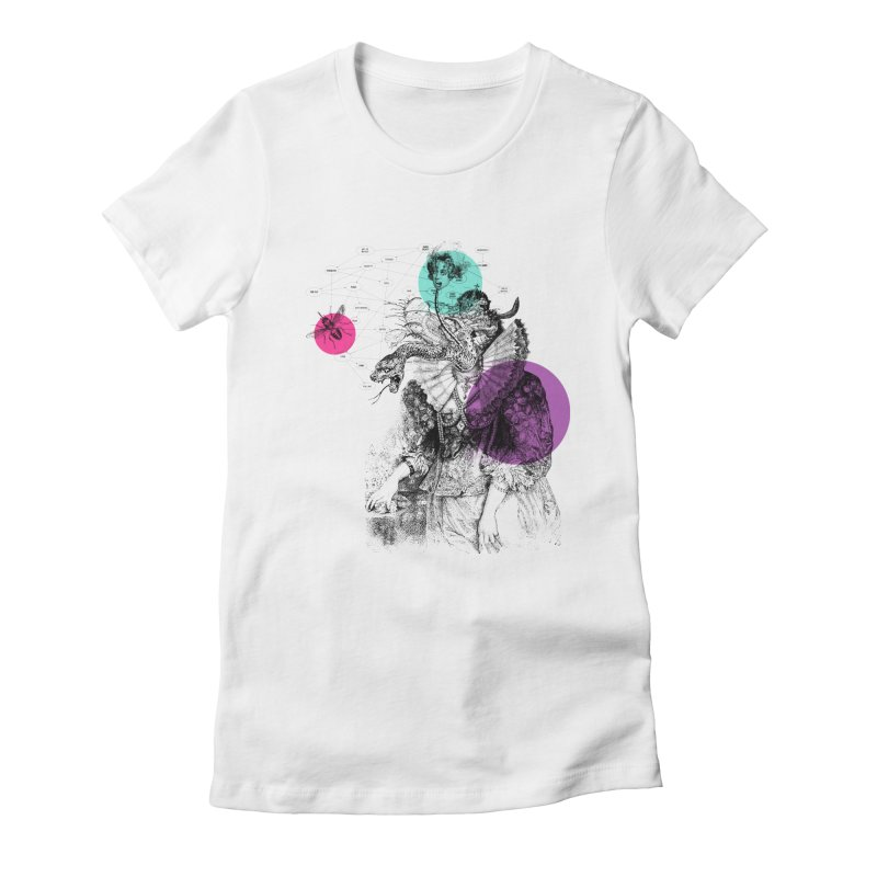 Le Rêve de Madame K Women's Fitted T-Shirt by Victor Calahan