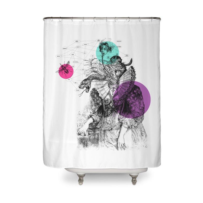 Le Rêve de Madame K Home Shower Curtain by Victor Calahan