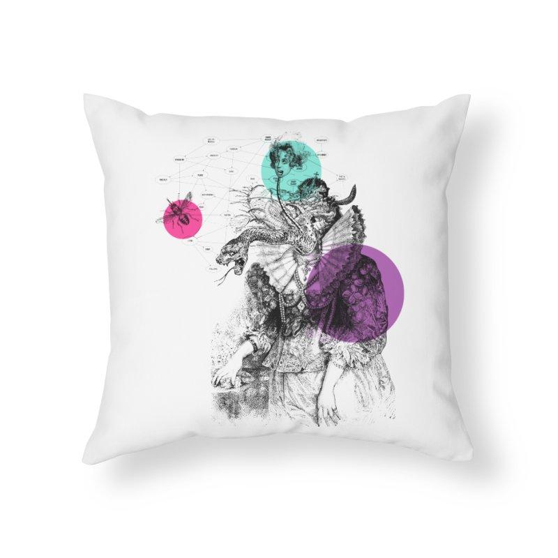 Le Rêve de Madame K Home Throw Pillow by Victor Calahan