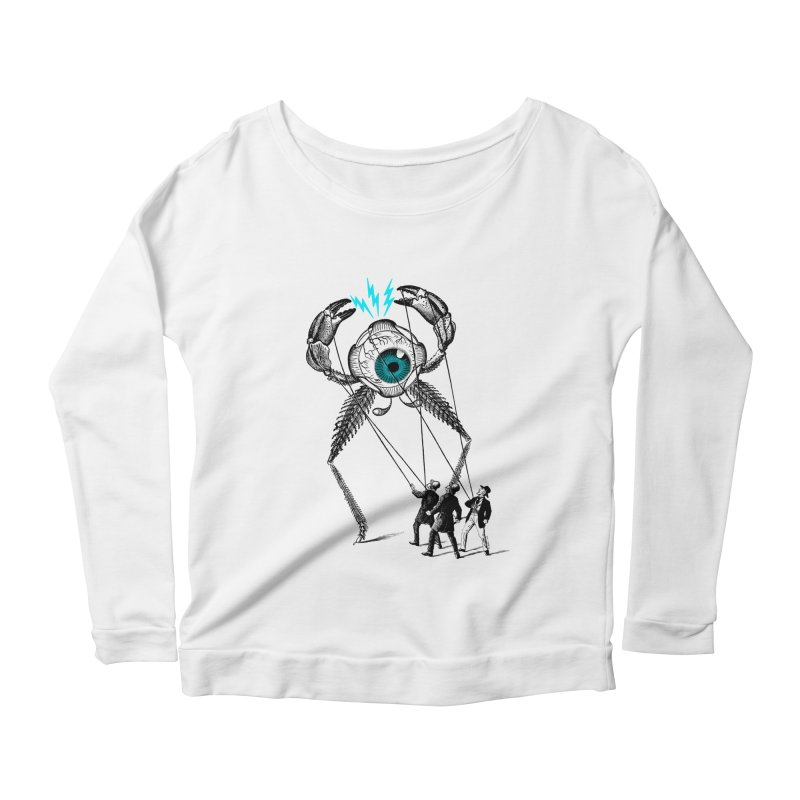 The Taming Women's Longsleeve Scoopneck  by Victor Calahan