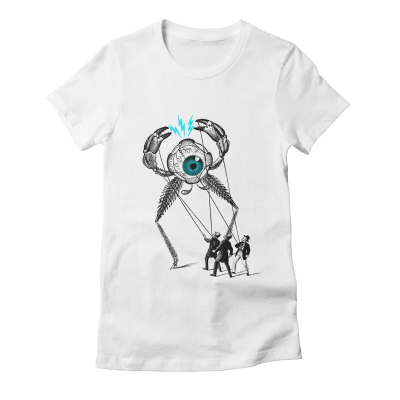 The Taming Women's Fitted T-Shirt by Victor Calahan