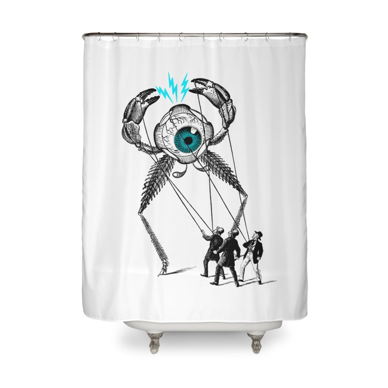 The Taming Home Shower Curtain by Victor Calahan