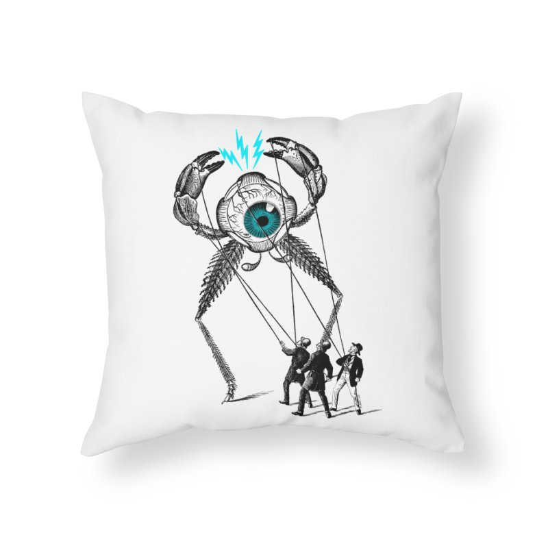 The Taming Home Throw Pillow by Victor Calahan