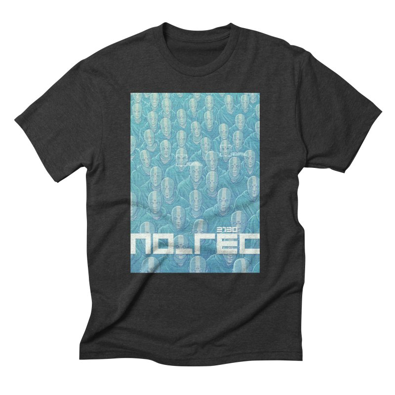 NO_REC 2130 Men's Triblend T-Shirt by Victor Calahan