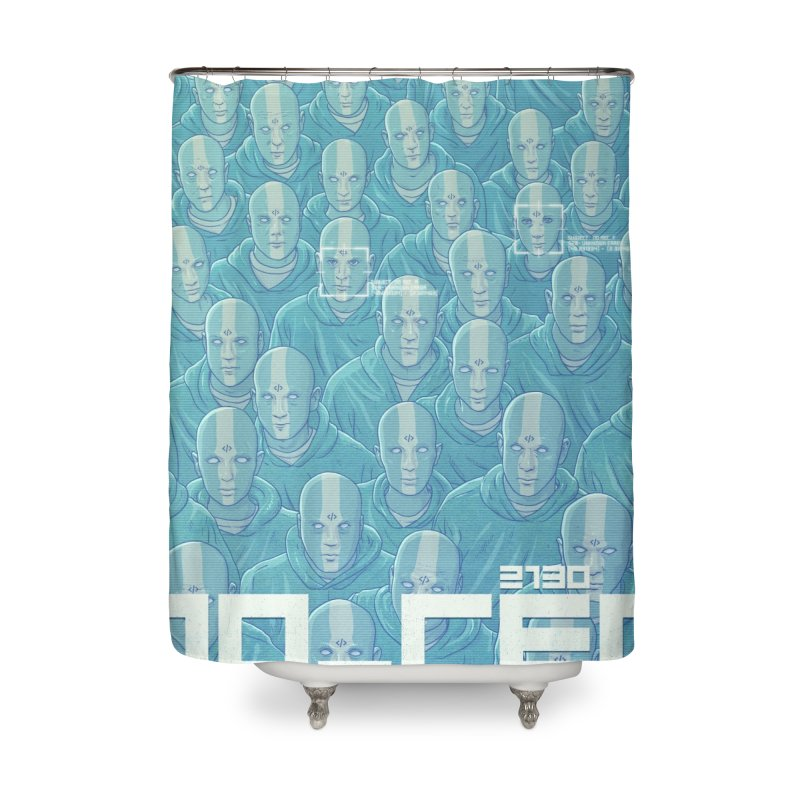 NO_REC 2130 Home Shower Curtain by Victor Calahan