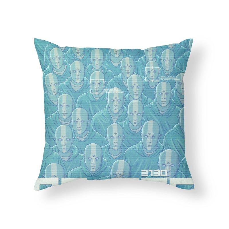 NO_REC 2130 Home Throw Pillow by Victor Calahan