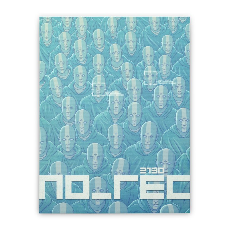 NO_REC 2130 Home Stretched Canvas by Victor Calahan