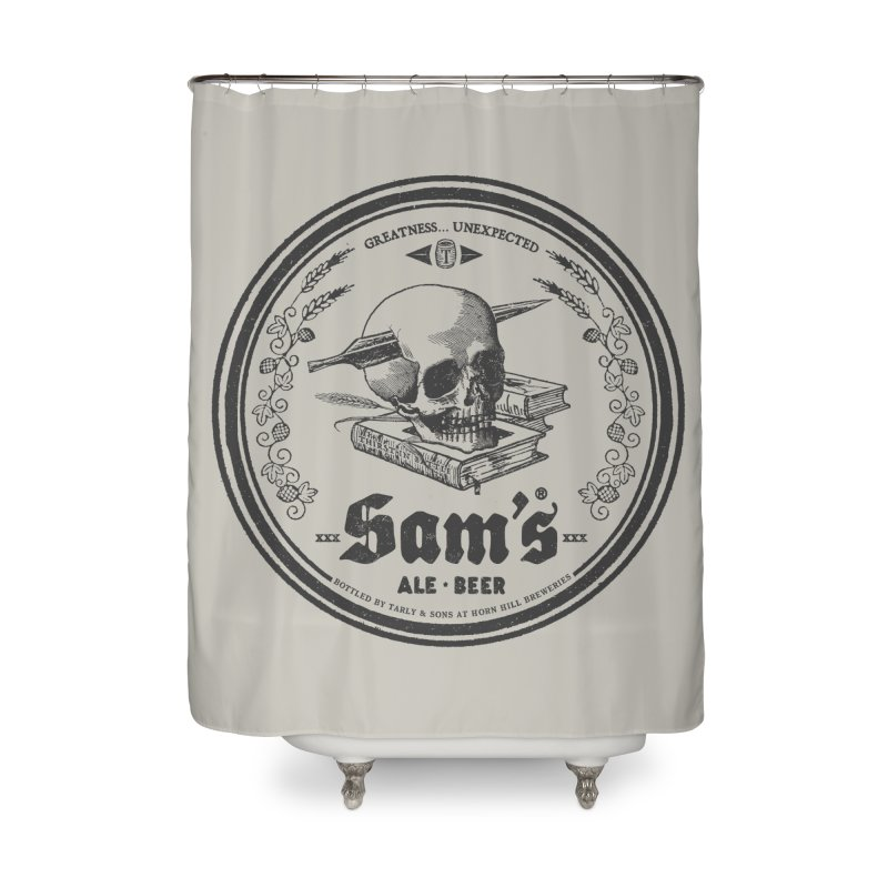 Sam's Home Shower Curtain by Victor Calahan