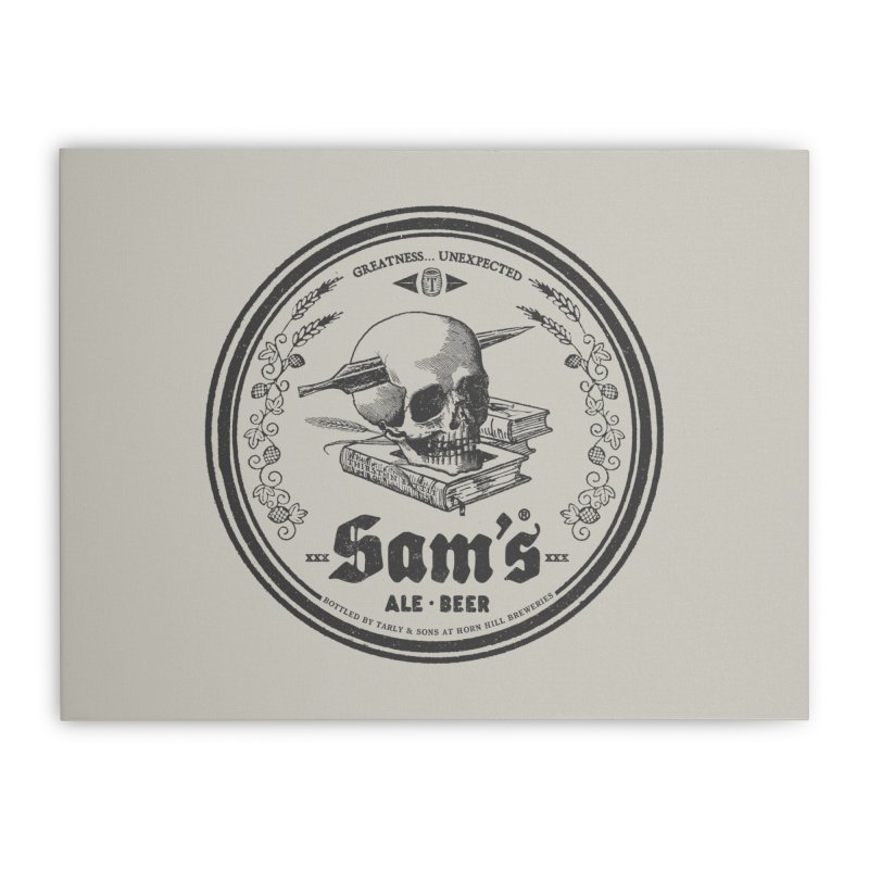 Sam's Home Stretched Canvas by Victor Calahan
