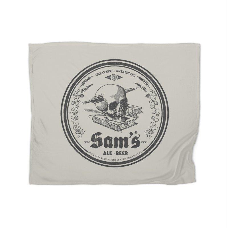 Sam's Home Fleece Blanket by Victor Calahan
