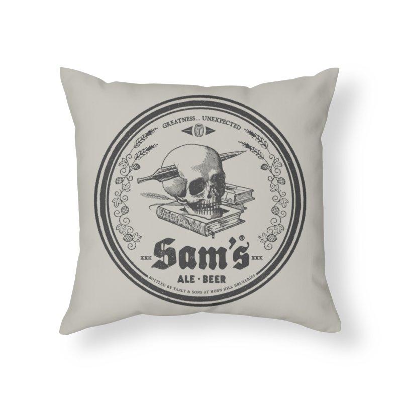 Sam's Home Throw Pillow by Victor Calahan