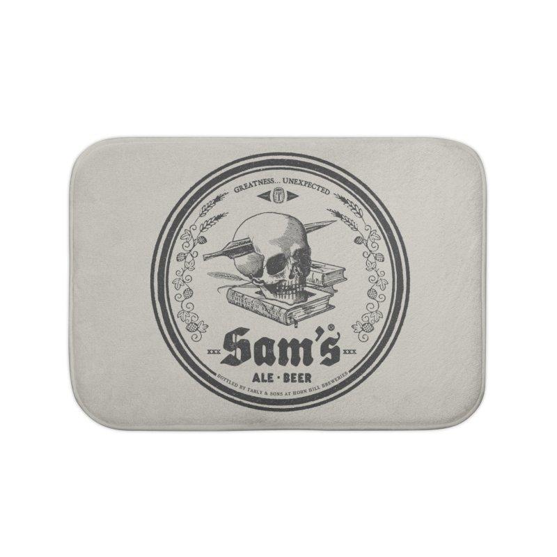 Sam's Home Bath Mat by Victor Calahan