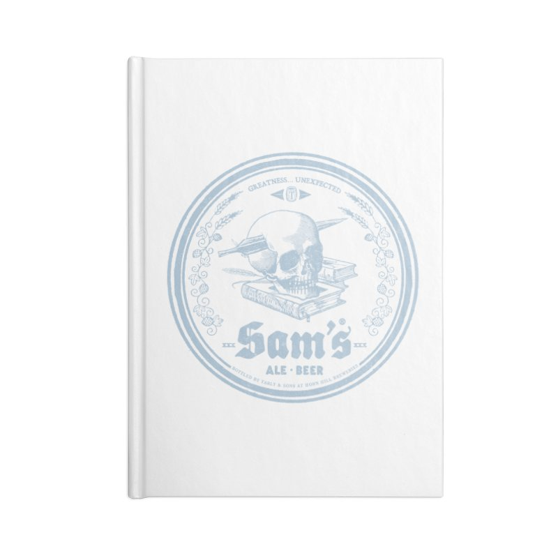 Greatness Unexpected Accessories Lined Journal Notebook by Victor Calahan