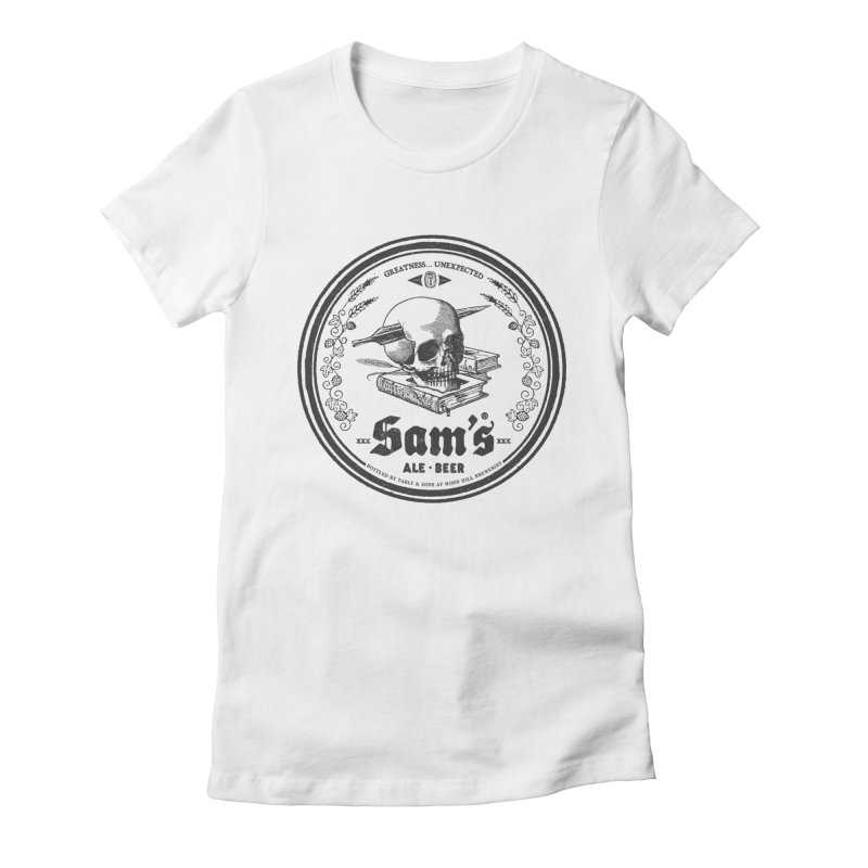 Sam's Women's Fitted T-Shirt by Victor Calahan