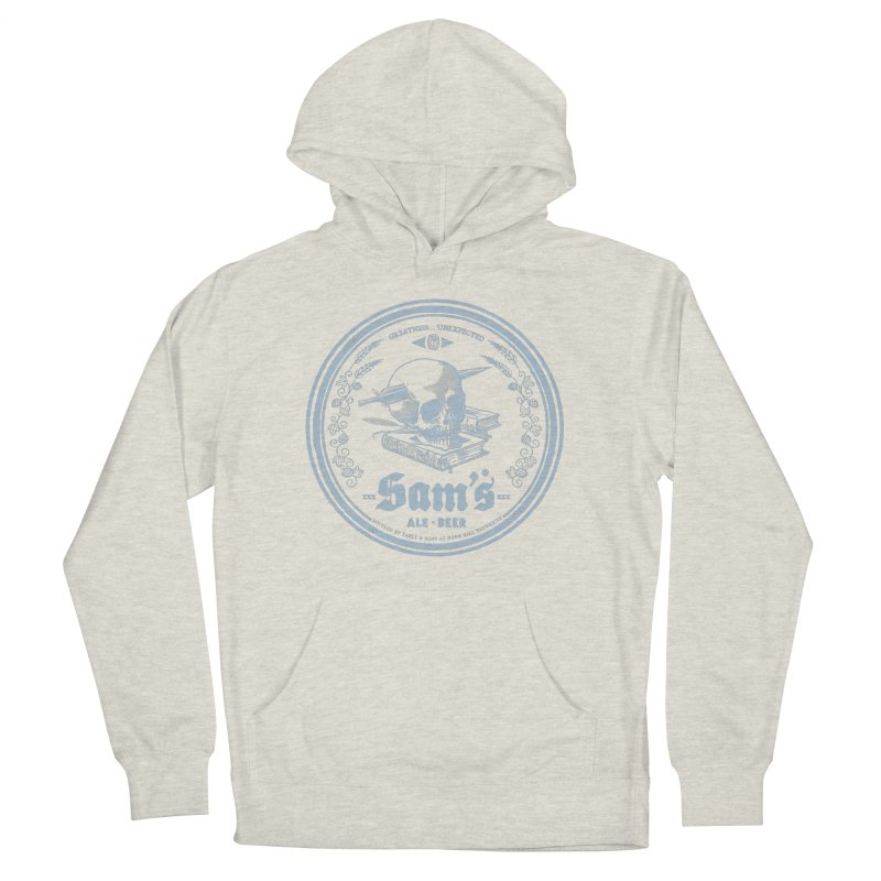 Greatness Unexpected Women's French Terry Pullover Hoody by Victor Calahan