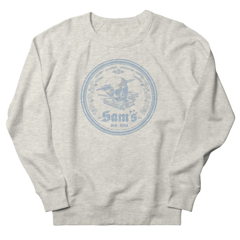 Greatness Unexpected Men's French Terry Sweatshirt by Victor Calahan