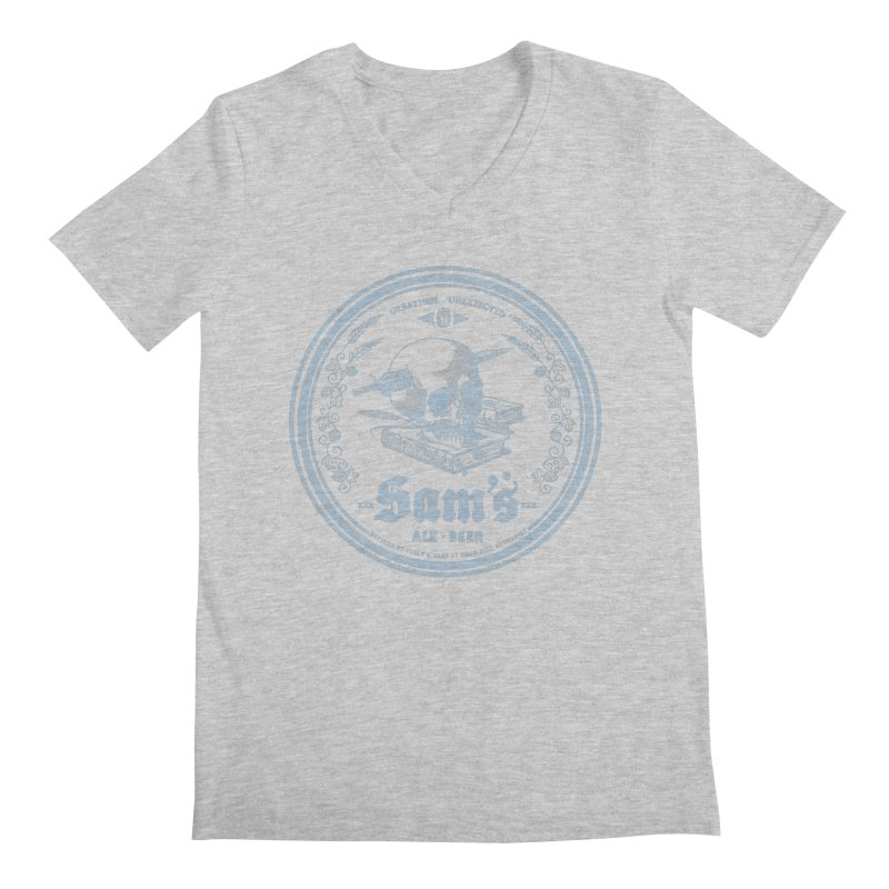 Greatness Unexpected Men's Regular V-Neck by Victor Calahan