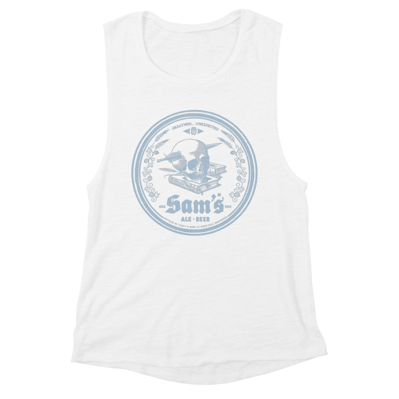 Greatness Unexpected Women's Muscle Tank by Victor Calahan