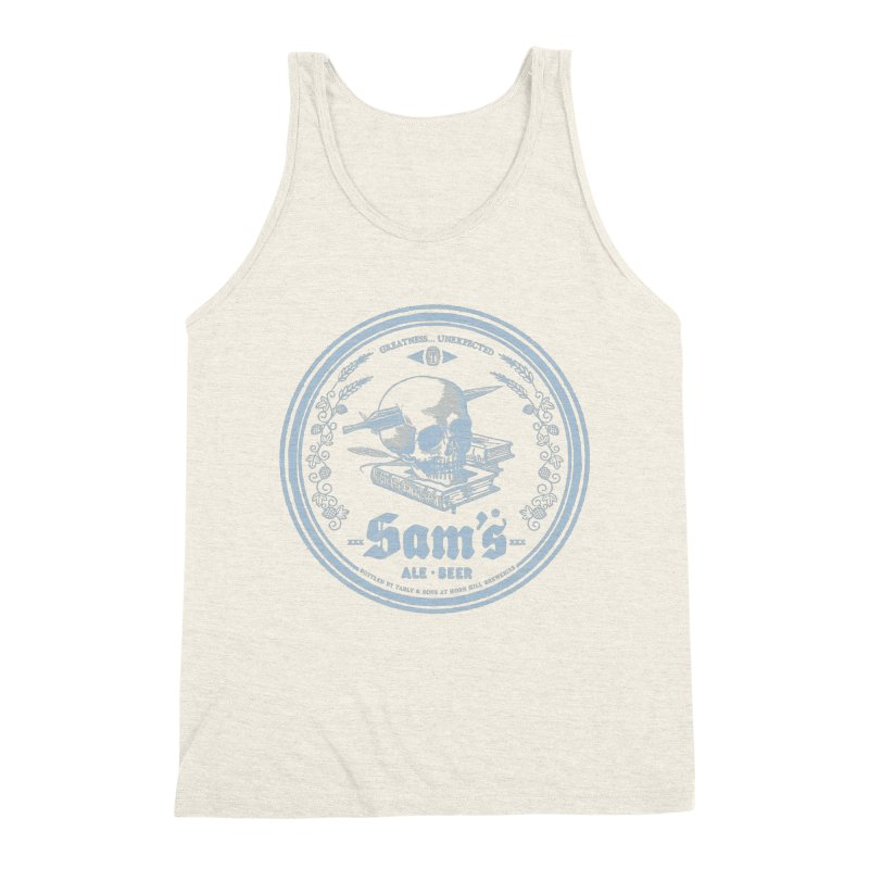 Greatness Unexpected Men's Triblend Tank by Victor Calahan