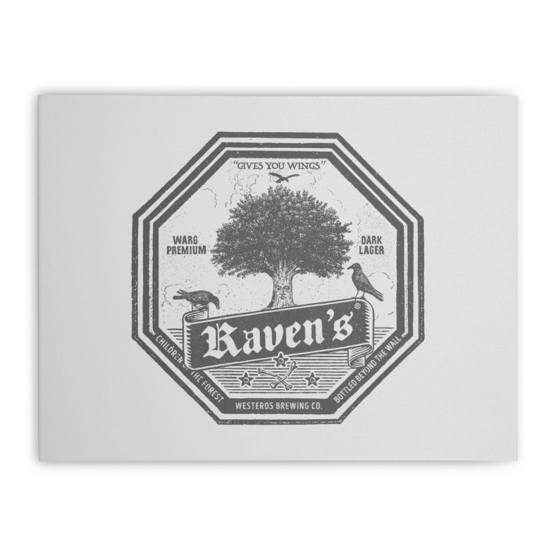 Raven's Home Stretched Canvas by Victor Calahan