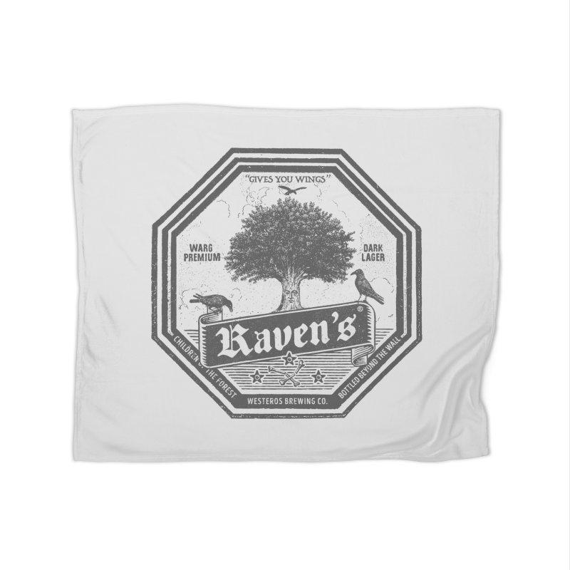 Raven's Home Fleece Blanket by Victor Calahan