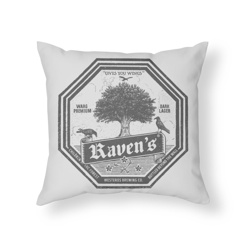 Raven's Home Throw Pillow by Victor Calahan