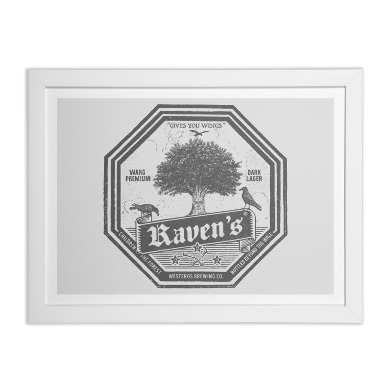 Raven's Home Framed Fine Art Print by Victor Calahan