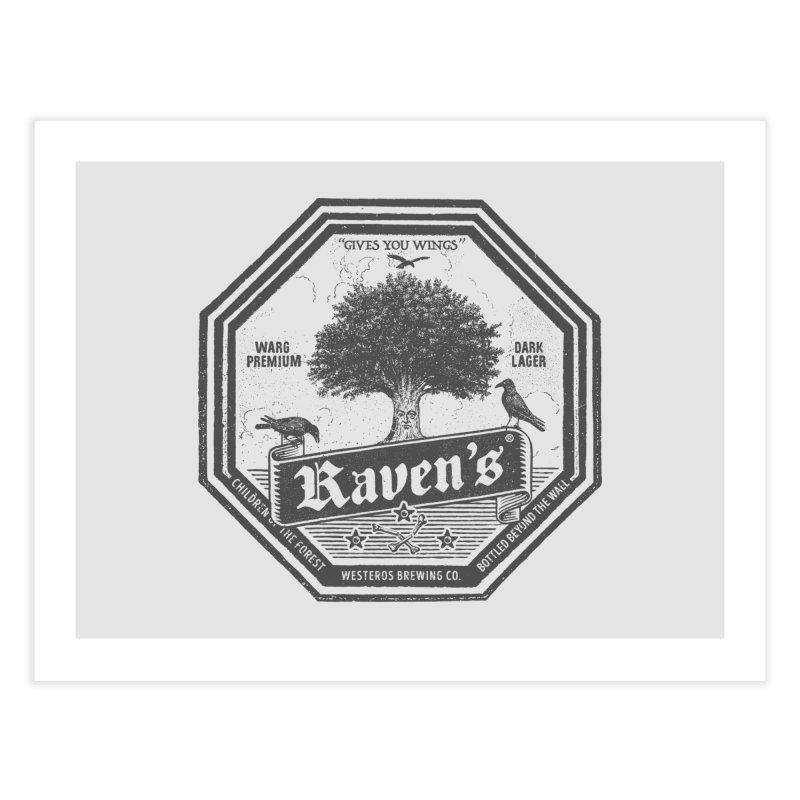 Raven's Home Fine Art Print by Victor Calahan