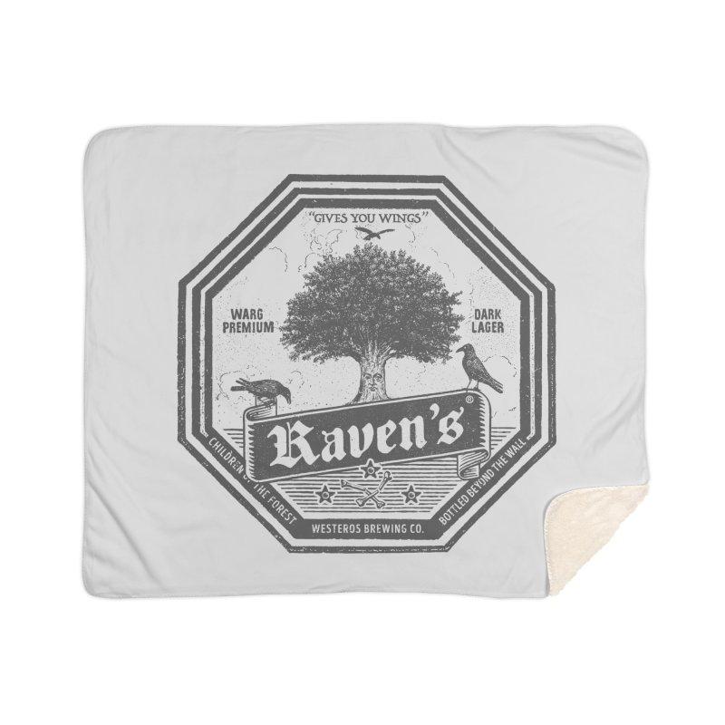 Raven's Home Sherpa Blanket Blanket by Victor Calahan