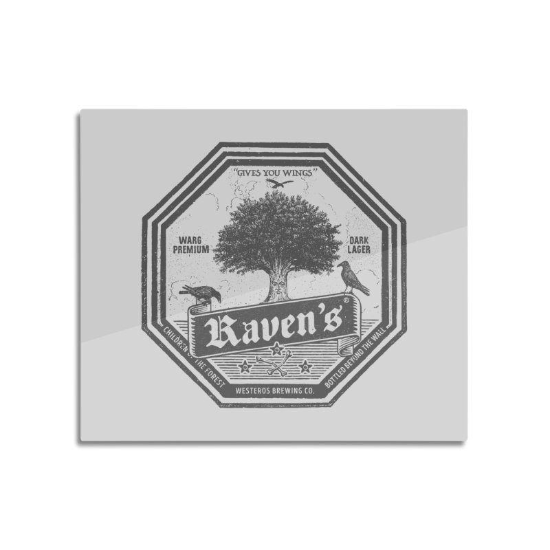 Raven's Home Mounted Acrylic Print by Victor Calahan