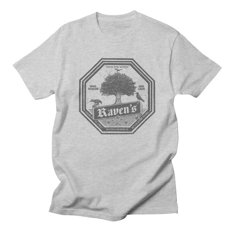 Raven's Men's T-Shirt by Victor Calahan